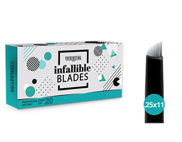 Box of 20 Slanted #11 Blades Lash Kings Distribution Slanted .25 Blades