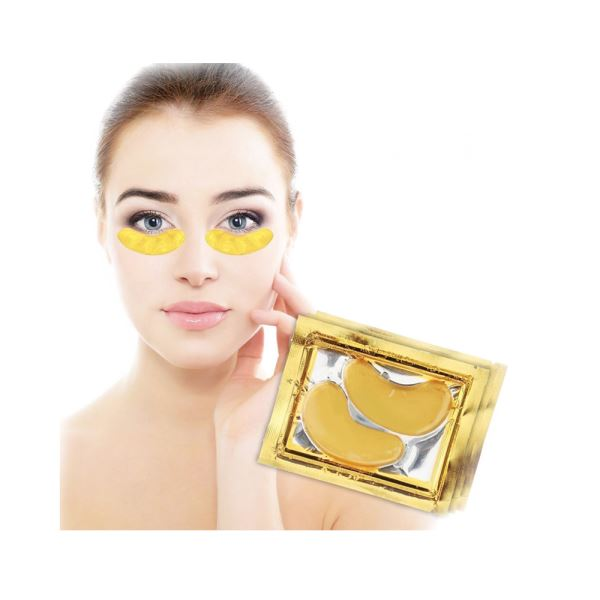 Crystal 24K Gold Powder Gel Collagen Eye Mask