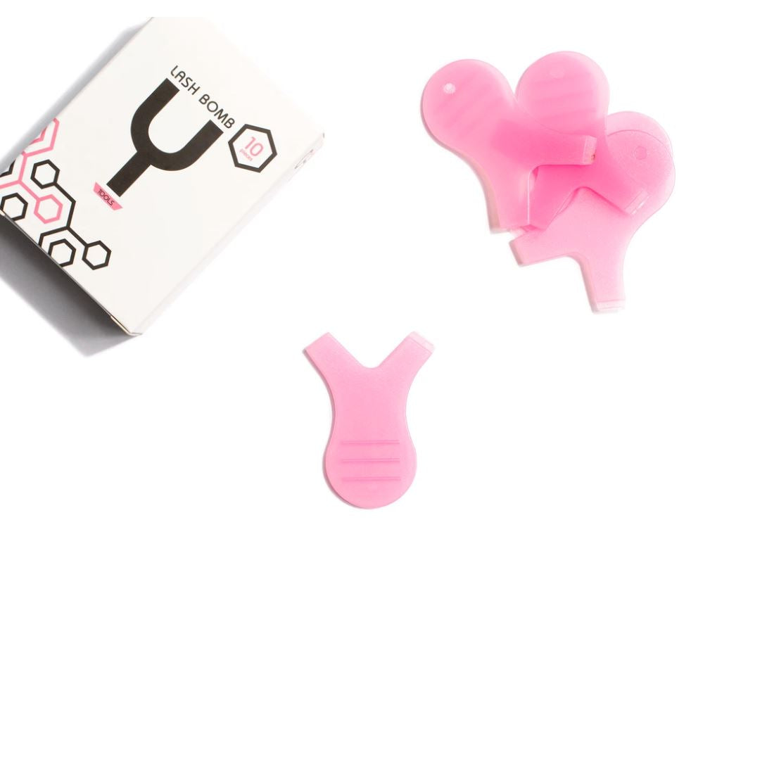 Pink Y Applicator Tool - Lash Kings