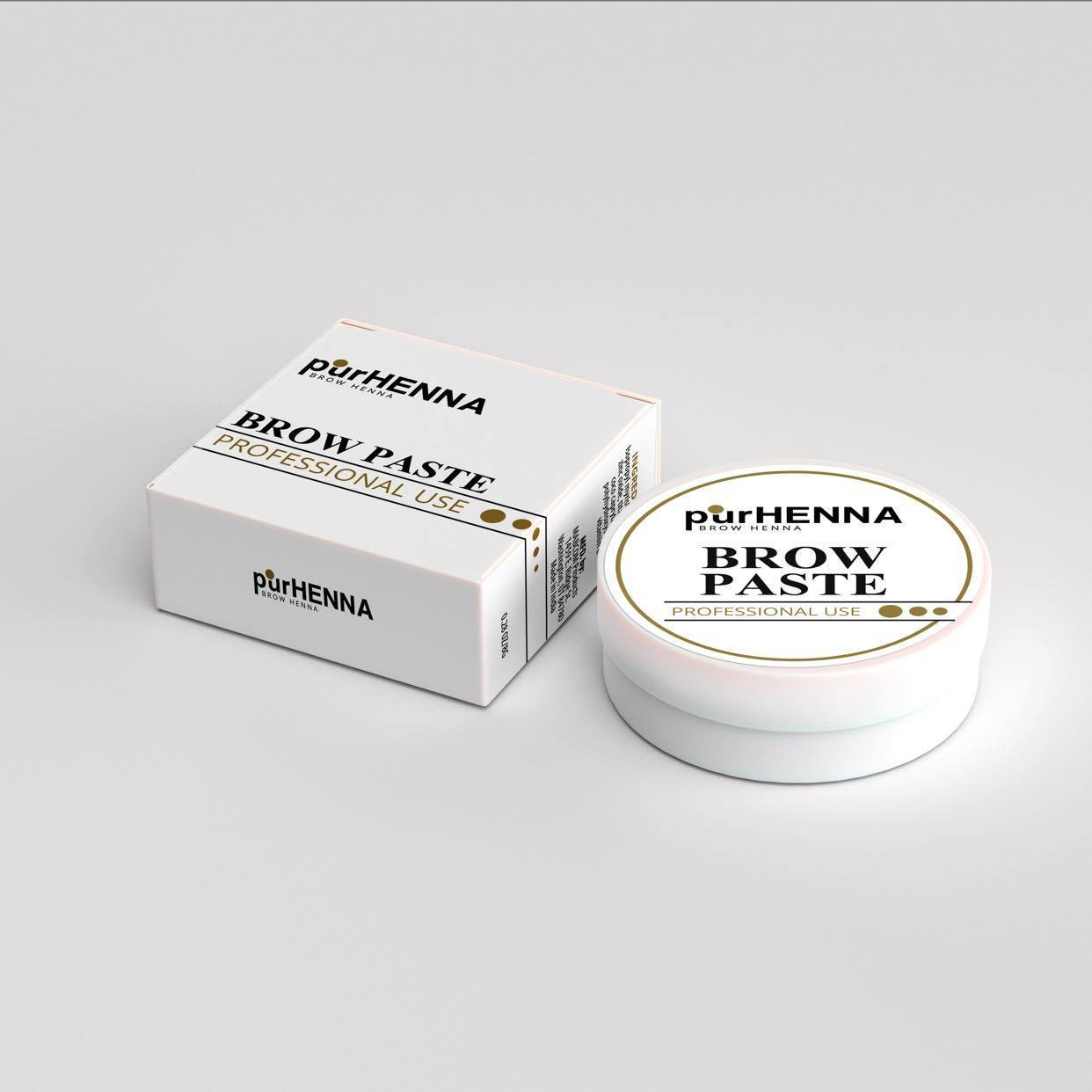 PurHenna Brow Henna White Mapping Paste - Lash Kings