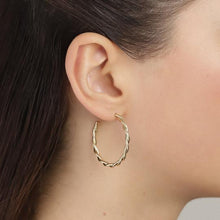 Load image into Gallery viewer, PILGRIM Naja Hoop Earrings
