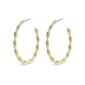 PILGRIM Naja Hoop Earrings