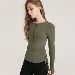 Sweat Lumbar Top - yoga1st