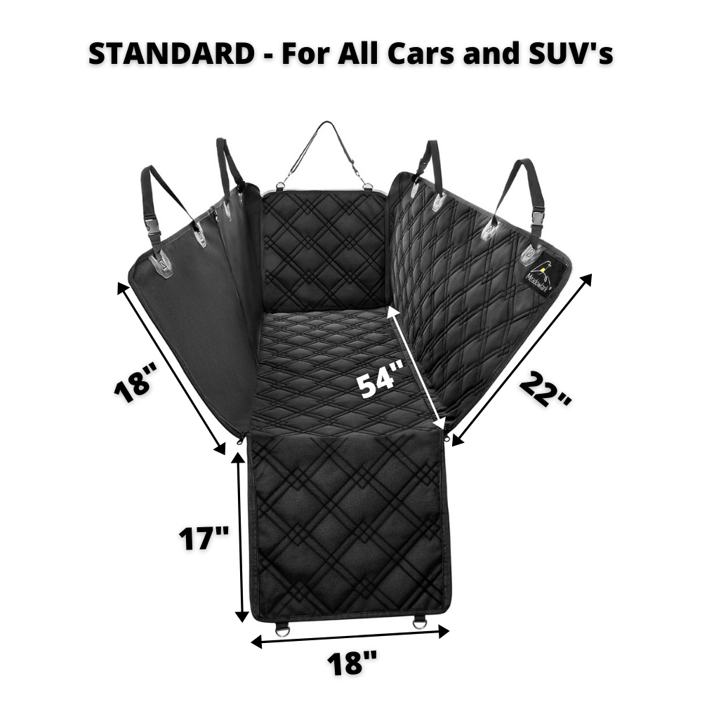 Hammock Car Back Seat Dog Cover standard size