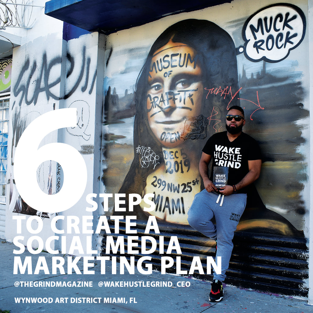 Effective Six-step plan for creating an effective social media plan.