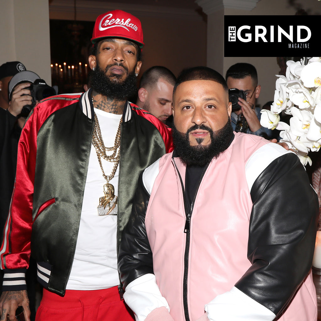 DJ Khaled Shares An Old Text Message Exchange Between Him And Nipsey Hussle After Learning About Their Grammy Nomination