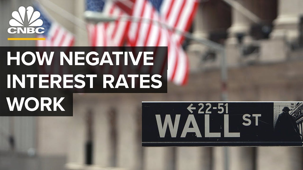 What Would Negative Interest Rates Mean For Consumers And The Economy?