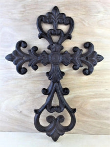 Antique Brown/Black Cross