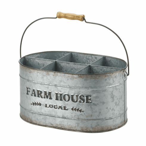 Galvanized Metal Wine Bucket