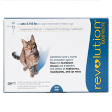 Load image into Gallery viewer, revolution_for_cats_5_15_lbs_blue_canadapetssupplies