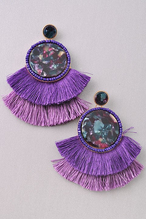 Fringe Earrings (additional colors)