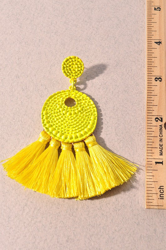 Tassel Earrings (additional colors)