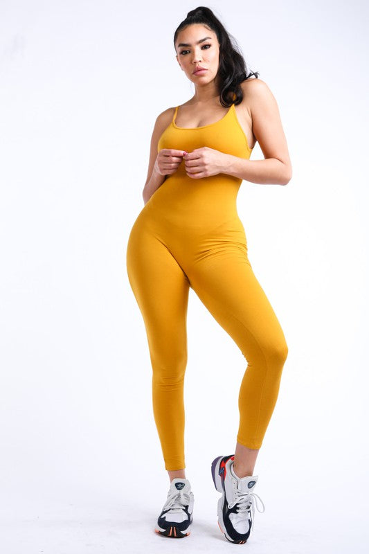 Spaghetti Strap Jumpsuit (additional colors)