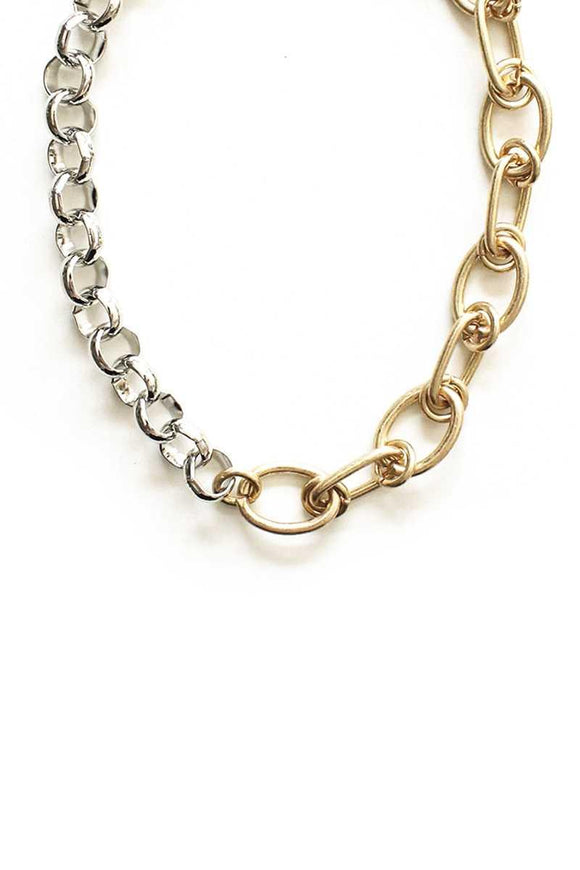 Metal 2 Style Necklace