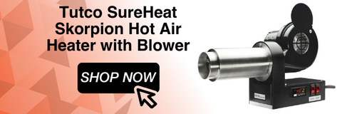 Tutco SureHeat Skorpion Hot Air Heater w/ Blower