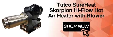 Tutco SureHeat Skorpion 230V/3000W (Hi-Flow) Hot Air Heater w/ Blower (Single Phase - ø 62 mm)