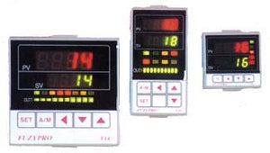 HCS 1/32 DIN Fuzzy Logic Temperature/Process Controllers