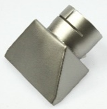 IHS - 100 x 4 mm, 150 x 1 mm, 150 x 10 mm, 300 x 6 mm Wide Slot Nozzles - (Push-Fit) - For Use With Ø 50 mm Hot Air Tools & Air Heaters