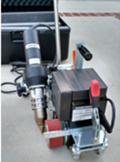 Forsthoff Oval G Blower System - For Forsthoff P2 Overlap, P2 Flooring, P2 Roof 120V Automatic Welding Machines