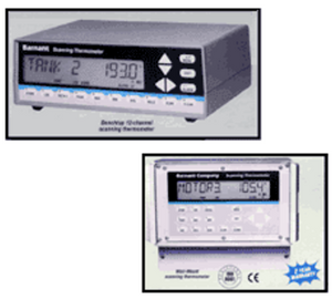 HCS Temperature Monitoring System 12-Channel Scanning
