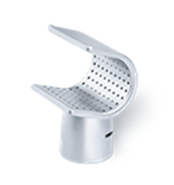 IHS - 35 x 20 mm & 50 x 35 mm Sieve Reflector Nozzles - (Push-Fit) - For Use With  ø 32 mm Hot Air Tools