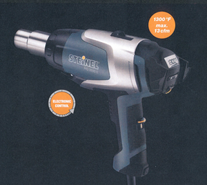 Steinel HG 2520 E Hot Air Tool - With LCD Display & Carrying Case - (Brushless - ø 32 mm)