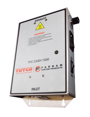 Tutco-Farnam TPC-CASH 1500 - Compact Cool Touch 1.5kW Air Heater & Thermal Process Controller