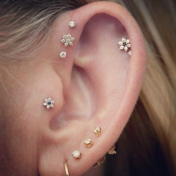 piercing and earring style made by our hands