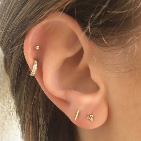 cartilage helix piercing