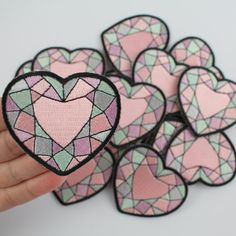 Heart Gemstone Patch
