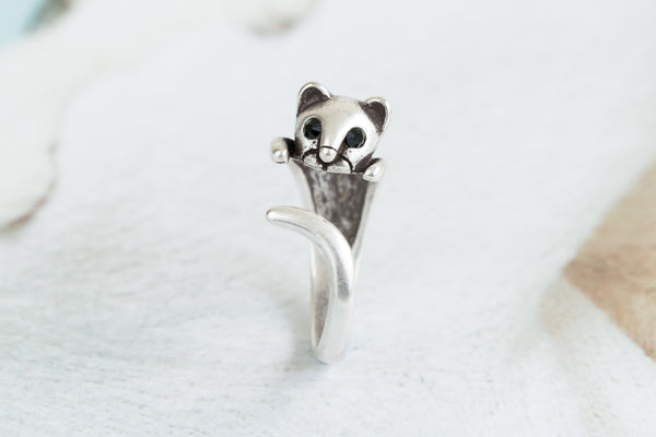 Open Cat Ring-A