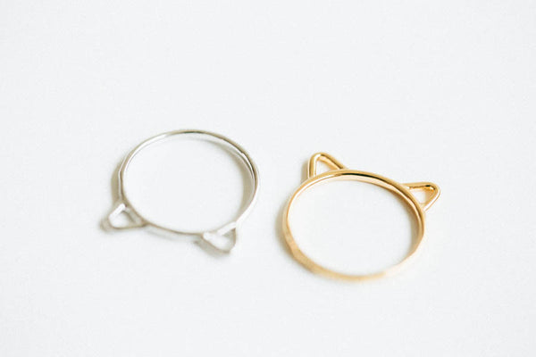 Cat knuckle Ring-G