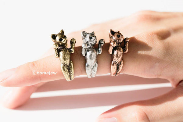 Open Cat Ring-C