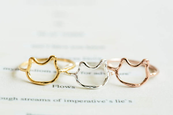 Cat knuckle Ring-K