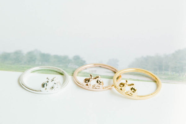 Rabbit Knuckle  Ring