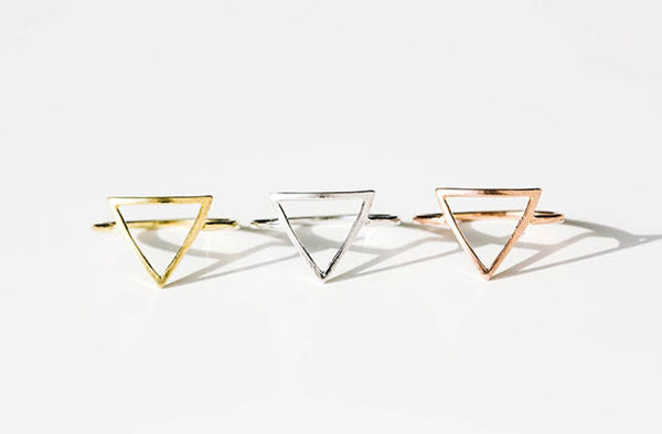 Open Triangle Ring-A