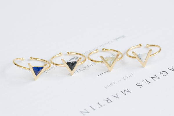 Open Triangle Ring-B