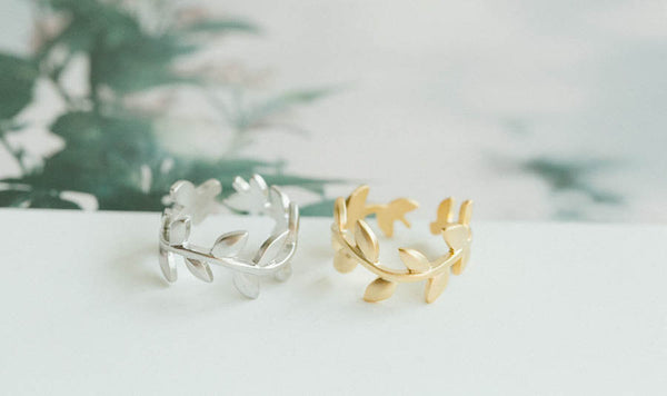 Adjustable Leaf Ring-A