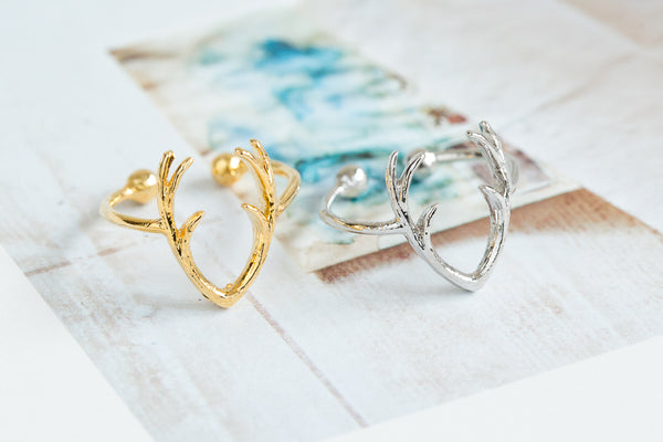 Adjustable Twig Ring