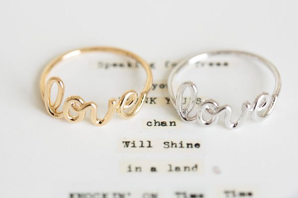 Love Letter Ring-A