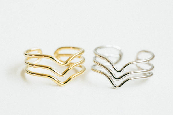 Adjustable 3lines V Ring
