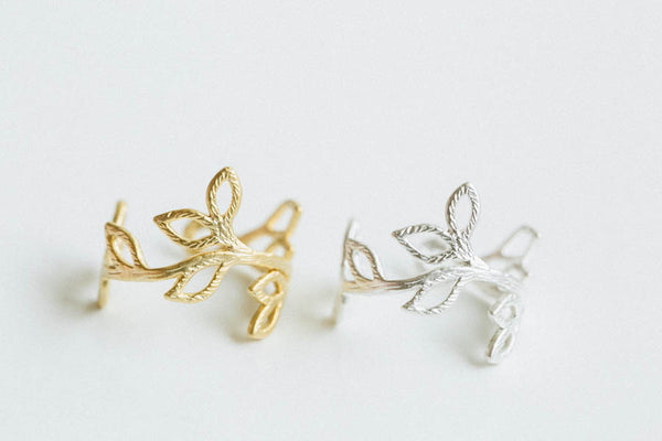 Adjustable Leaf Ring-B9