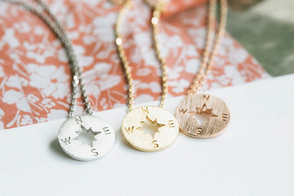 Compass Anklet-A