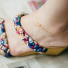 Cross Anklet-A