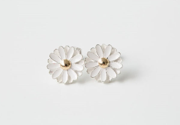 Flower earrings-DZ