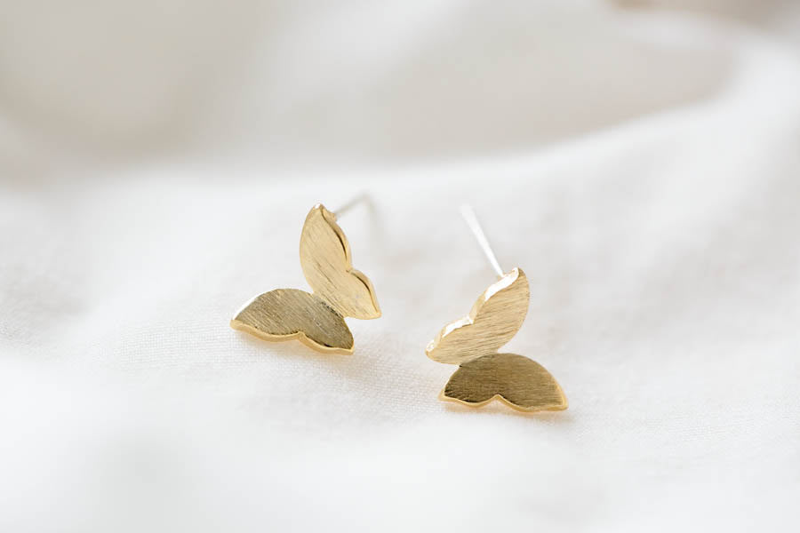 butterfly earrings- AA