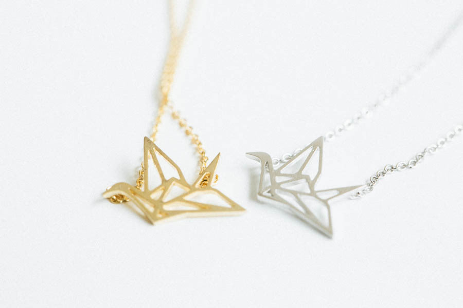 Crane Necklace-fj