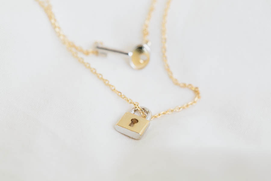 Key&Lock Necklace-jg