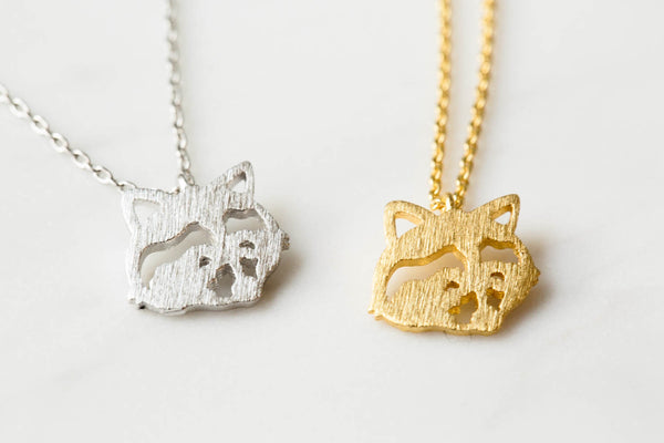 Racoon Necklace-kf
