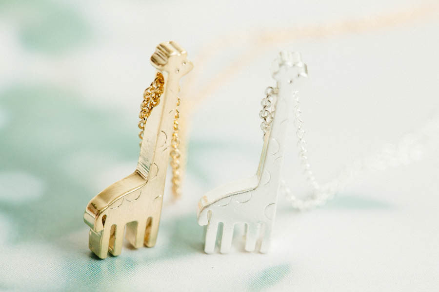 Giraffe Necklace-ks